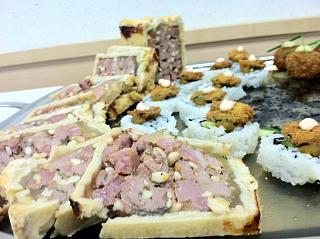 Click image for larger version  Name:Duck pate on platter 2.jpg Views:328 Size:66.8 KB ID:10643