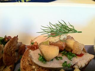 Click image for larger version  Name:close up- Pork tenderloin- apples,pears,apricot brandy, dill, spicy mustard, hot spread, spicy m.jpg Views:1718 Size:52.9 KB ID:10837