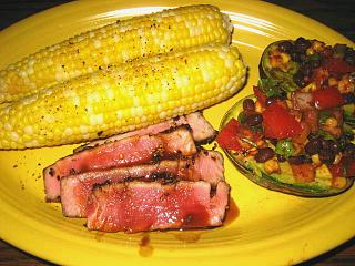 Click image for larger version  Name:grilled tuna,corn,avocado 6-24-11-4.jpg Views:136 Size:109.2 KB ID:11735