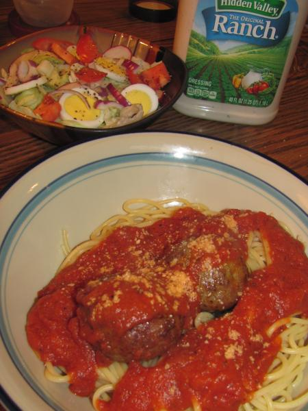 Click image for larger version  Name:Spaghetti & Salad.jpg Views:14 Size:44.2 KB ID:33126