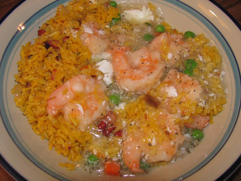 Click image for larger version  Name:King China Shrimp in Lobster Sauce - Pork Fried Rice.jpg Views:13 Size:68.3 KB ID:33403