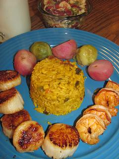 Click image for larger version  Name:Shrimp $ Scallops, Fried, Mex Rice .jpg Views:22 Size:44.8 KB ID:34302