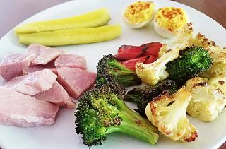 Click image for larger version  Name:ham and roasted veggies.jpg Views:33 Size:62.7 KB ID:34589