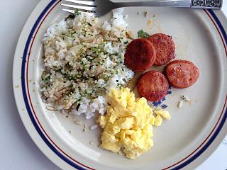 Click image for larger version  Name:Portugese Sausage Eggs and Rice in Honolulu.jpg Views:31 Size:72.0 KB ID:34684