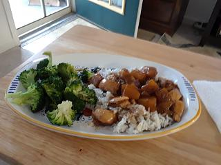 Click image for larger version  Name:Pineapple chicken, rice and broccoli.jpg Views:27 Size:50.7 KB ID:35000
