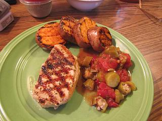 Click image for larger version  Name:Pork,Yam, Grill.jpg Views:9 Size:69.9 KB ID:35285