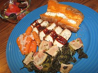 Click image for larger version  Name:Pork Loin, Collards ith Bacon.jpg Views:44 Size:78.8 KB ID:36820