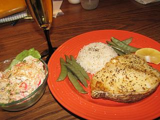 Click image for larger version  Name:Chilean Sea Bass, Snap Peas, Surimi Salad.jpg Views:16 Size:75.3 KB ID:39447