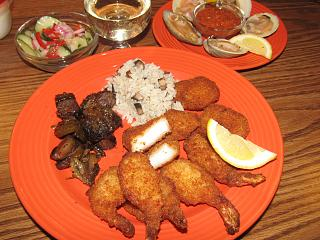 Click image for larger version  Name:Scallops & Shrimps, Bella's in Rice, Balsamic roasted Sprouts....jpg Views:23 Size:82.0 KB ID:41343