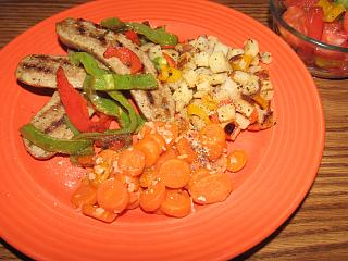 Click image for larger version  Name:Sausage and Peppers, Tomato Salad.jpg Views:23 Size:73.4 KB ID:43075
