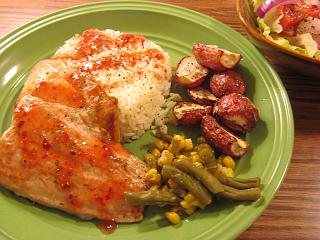 Click image for larger version  Name:Salmon Filets, Sweet Chili Sauce.jpg Views:27 Size:73.2 KB ID:43575