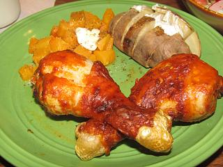 Click image for larger version  Name:Chicken Drummies, Buffalo Sauce.jpg Views:28 Size:72.5 KB ID:43721