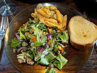 Click image for larger version  Name:Salad and Salad and Penne Romanoff.jpg Views:10 Size:103.2 KB ID:47064