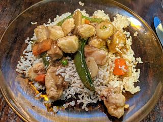Click image for larger version  Name:Chicken and vegi stir fry on brown rice.jpg Views:15 Size:81.0 KB ID:48063