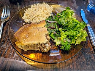 Click image for larger version  Name:Tourtière with gravy, salad, and brown basmati rice.jpg Views:11 Size:95.8 KB ID:48077