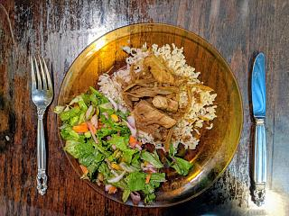 Click image for larger version  Name:Pork in Madras sauce with brown basmati rice and a salad.jpg Views:16 Size:200.4 KB ID:48510