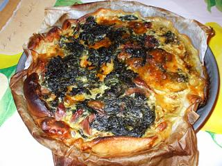 Click image for larger version  Name:My puff pastry spinach quiche_600x450.jpg Views:166 Size:100.2 KB ID:6343