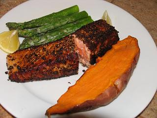 Click image for larger version  Name:Salmon in Pepper Crust #7.jpg Views:228 Size:61.2 KB ID:7514